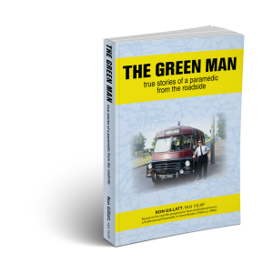 Green Man 3D Book right facing