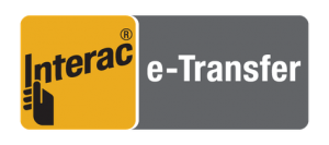 clickable interac eTransfer logo to contact Ron